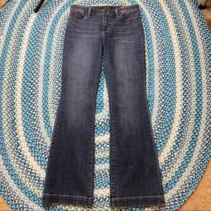 Talbots Flare Medium Wash Denim Jeans